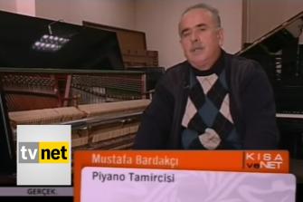 TV NET Bardakçı Kardeşler Piyano Röportajı